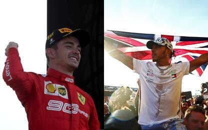 """F1, i vostri piloti """"social"""" del 2019"""