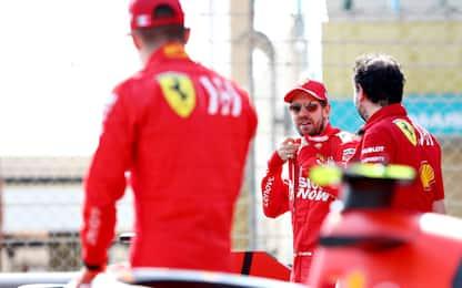Ferrari in pista, filming day a Barcellona