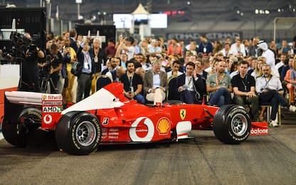 La F2002 di Schumi all'asta per 5,9 mln di dollari