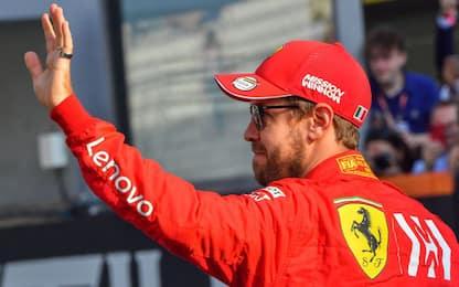 """Vettel: """"Tenete duro e non perdete la speranza"""""""