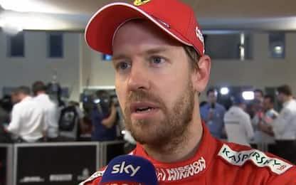 "Vettel: ""Dura senza DRS. Meccanici cuore Ferrari"""