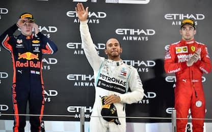 Abu Dhabi, un podio tra passato, presente e futuro