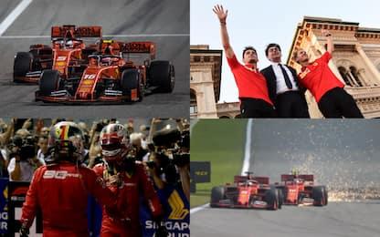 Un 2019 tra alti e bassi: l'anno Ferrari in FOTO