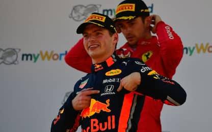 """Verstappen: """"Mai alla Ferrari con Leclerc"""""""