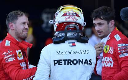 Hamilton e la Ferrari: ecco come stanno le cose