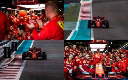 Ferrari, un VIDEO per salutare il Mondiale 2019