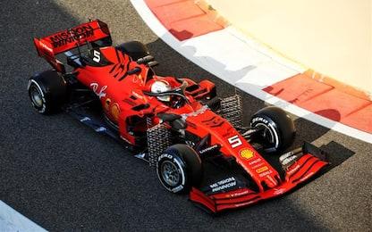 """Vettel: """"Giornata di test molto utile per il 2020"""""""