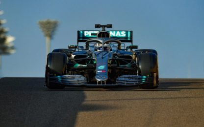 Test Abu Dhabi, Day-1: Bottas 1° davanti a Vettel