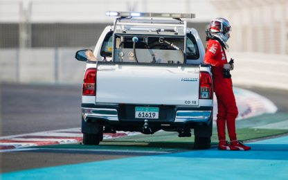 "Leclerc: ""Test positivi, nonostante l'incidente"""