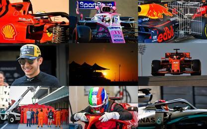 Test Abu Dhabi, cala il sipario sulla F1. FOTO