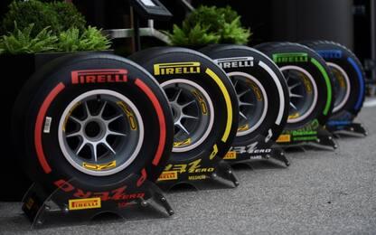 F1, scelte le gomme per il 2020