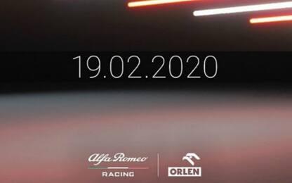 Alfa Romeo, giù i veli il 19 febbraio a Barcellona