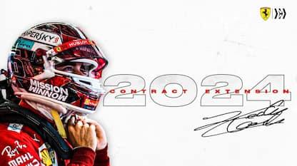 Leclerc rinnova con Ferrari: in rosso fino al 2024