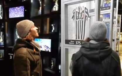 Giovinazzi, giro speciale allo Juventus Stadium