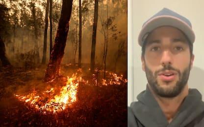 Incendi in Australia, l'iniziativa di Ricciardo