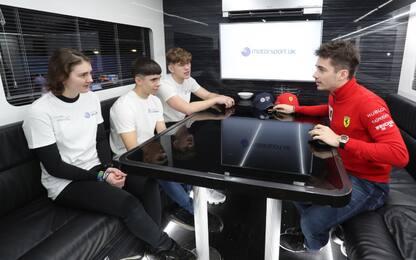 """Leclerc: """"Ancora molto da imparare da Vettel"""""""