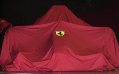 Ferrari, 11 febbraio presentazione a Reggio Emilia