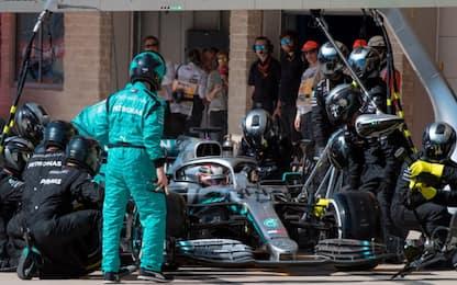Mercedes, acceso il motore 2020. VIDEO