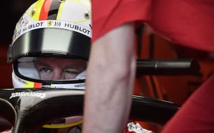 Vettel, la prima volta sulla nuova Ferrari