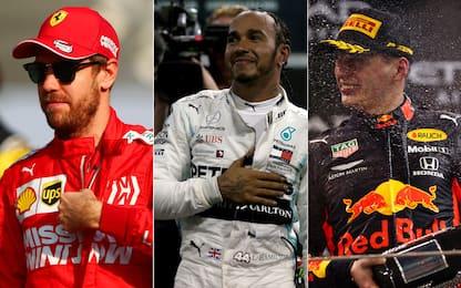 Formula 1, tutti i piloti del Mondiale 2020. FOTO