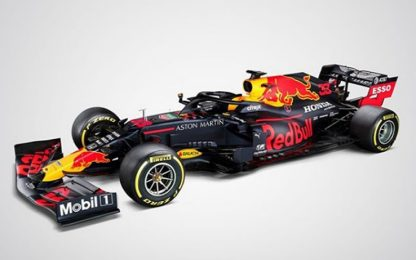 C'è la nuova Red Bull di Verstappen: è la RB16