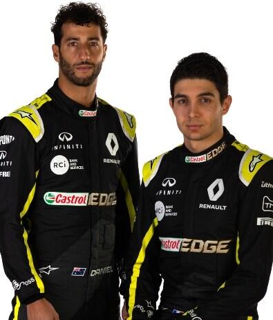 Riccardo e Ocon