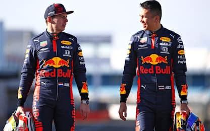 "Verstappen: ""Primi giri positivi sulla RB16"""