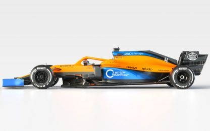 McLaren, svelata la macchina 2020: si chiama MCL35