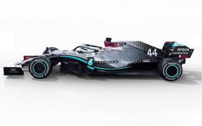 Mercedes, presentata la W11 di Hamilton e Bottas