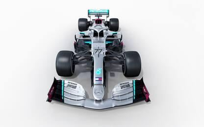 Dentro la Mercedes: le FOTO della nuova  W11