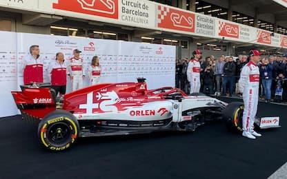 Alfa, svelata la C39 di Raikkonen e Giovinazzi