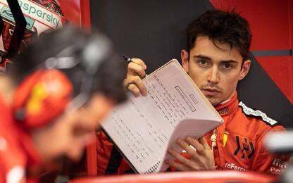 """Leclerc: """"Un onore essere pilota Ferrari"""""""