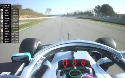 Volante Mercedes, l'analisi tecnica