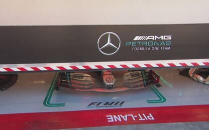 """Volante """"Das"""" Mercedes, cosa dice il regolamento?"""