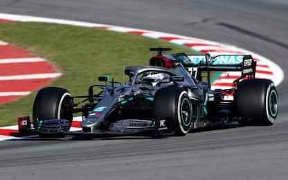 Test, Day-3: dominio Mercedes, Vettel 12°