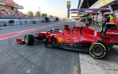 Test Barcellona, Day-2 in LIVE STREAMING
