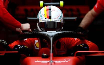 Test, segnali rossi: Vettel 1°, si ferma Hamilton