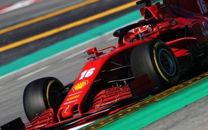 Test, Leclerc 1°: Day-3 in LIVE STREAMING