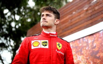 """Leclerc: """"Testa al GP e alla situazione nel mondo"""""""