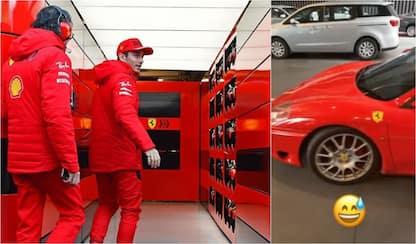 La magia di Leclerc: la Ferrari diventa limousine