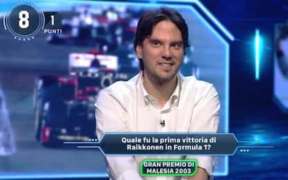 Sky Sport Quiz, Matteo va veloce come Raikkonen