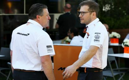 McLaren, membro dello staff non ha più sintomi