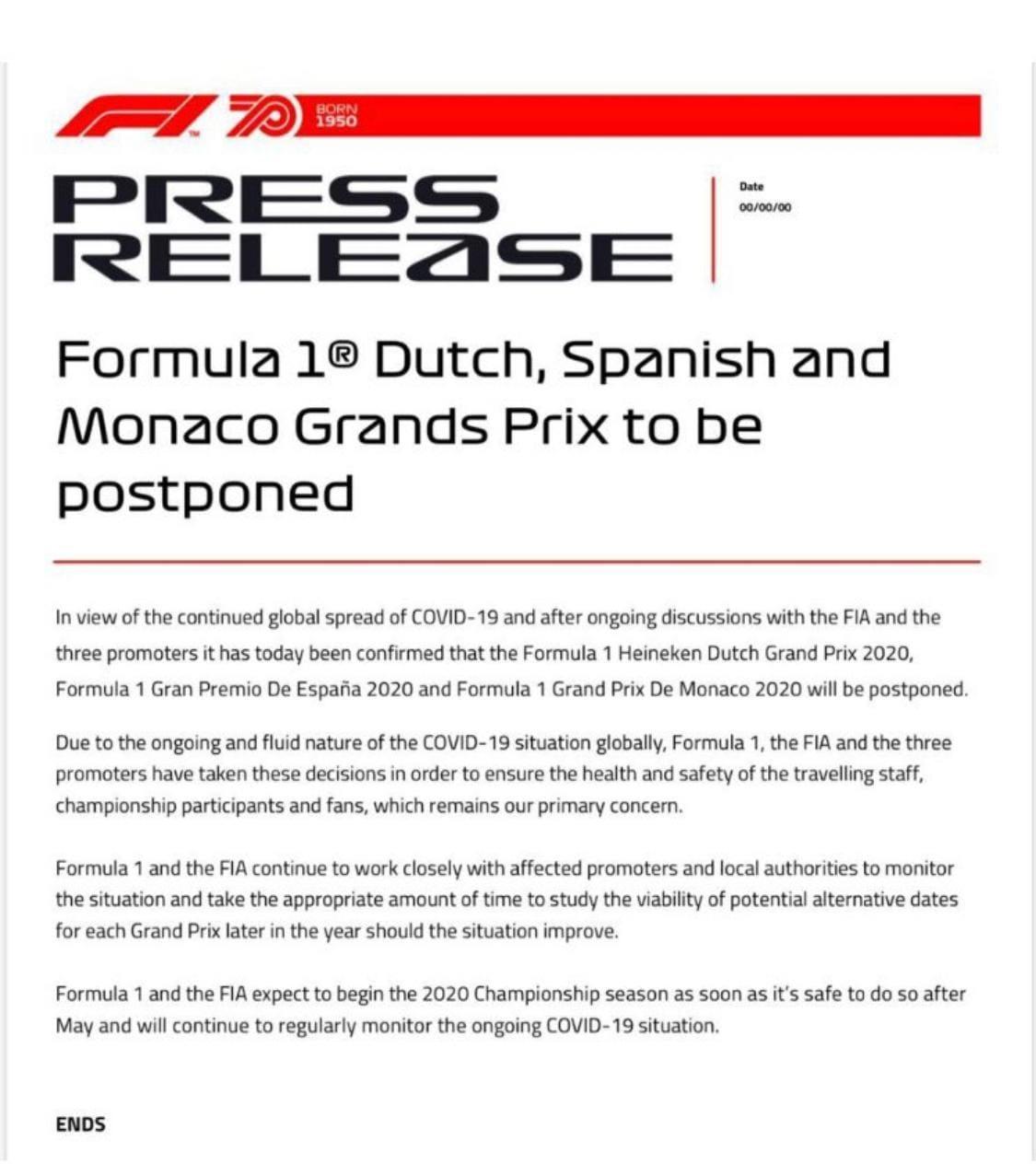 Rinvii F1