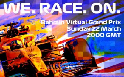 Bahrain, il GP virtuale live su Sky: programma