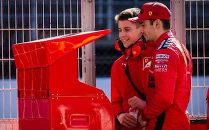 Leclerc con il fratello, Norris c'è: la griglia