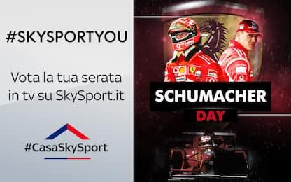 #SkySportYou, Schumi Day: vota il podio più bello