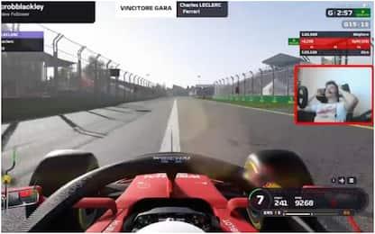 Leclerc, rabbia e gioia: le prove del GP virtuale