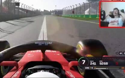F1 virtuale o reale? Leclerc ringrazia il muretto