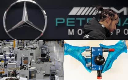 F1, pronti i primi respiratori targati Mercedes