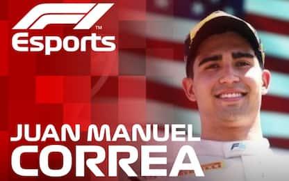 Debutta Correa, 8 mesi fa l'incidente in F2